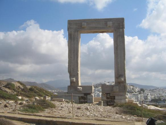 Temple of Apollo Naxos the Gateway